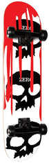 Zero 3 Skull Blood White - White/Black - 7.75in - Complete Skateboard