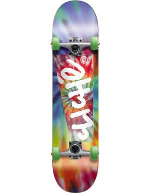 Cliche Hippy Complete Skateboard - 7.8 - Blue/Red
