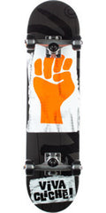 Cliche Viva Cliche Complete Skateboard - 8.0 - Black/Orange