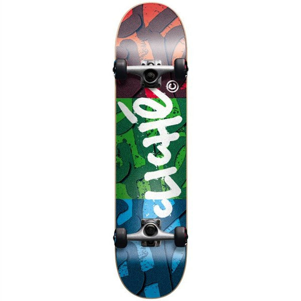 Cliche RGB Complete Skateboard - 7.9 -  Red/Green/Blue
