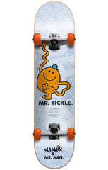 Cliche Mr. Tickle Youth Mid Complete Skateboard - Blue - 7.375in