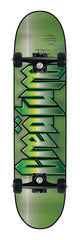 Creature Cold Steel Powerply Medium Complete Skateboard - 7.9 x 31.7 - Green/Black