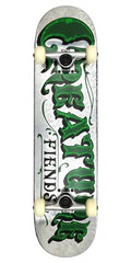 Creature Mirrorz Powerply Medium Complete Skateboard - 7.8 x 31.7 - Silver