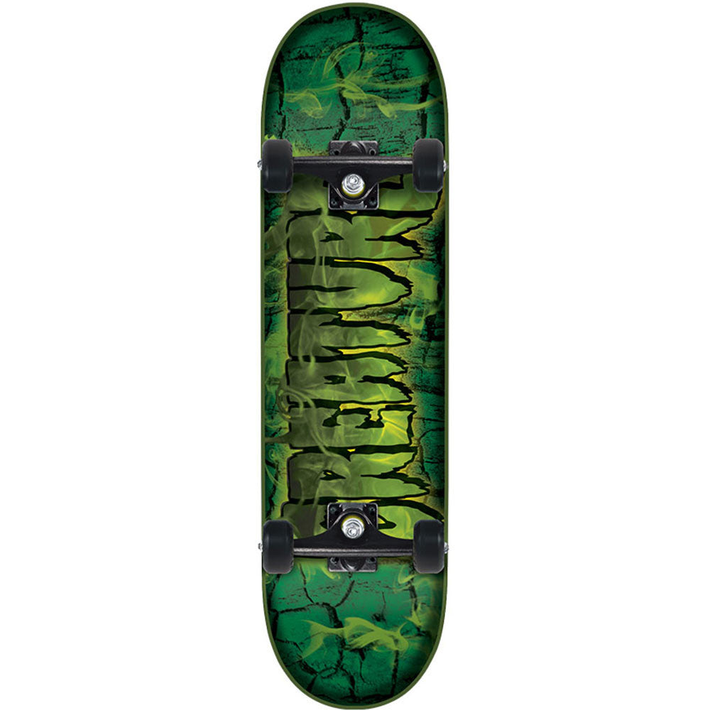 Creature Team Inferno Regular Sk8 Complete Skateboard - Green - 7.5in x 30.6in
