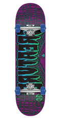 Creature Ass Backwards Premium Sk8 Complete Skateboard - Purple - 8.2in x 31.6in