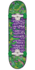 Creature Detox Regular Sk8 Complete Skateboard - Green - 7.5in x 30.6in