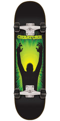 Creature The Thing Complete Skateboard - Black - 7.8in x 31.7in