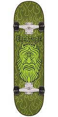 Creature Cyclops Complete Skateboard - Green - 8.2in x 31.69in