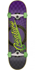 Creature Horror City Sk8 Complete Skateboard - Purple - 7.9in x 31.7in