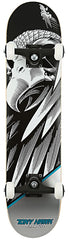 Birdhouse Hawk Falcon Mini Complete Skateboard - 7.25 - Black/Silver/White