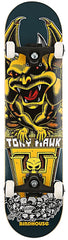 Birdhouse Hawk Gargoyle Complete Skateboard - 7.6 - Navy/Yellow