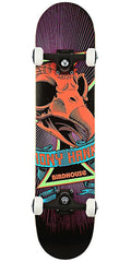 Birdhouse Hawk Skull Mini Complete Skateboard - 7.25 - Purple/Black