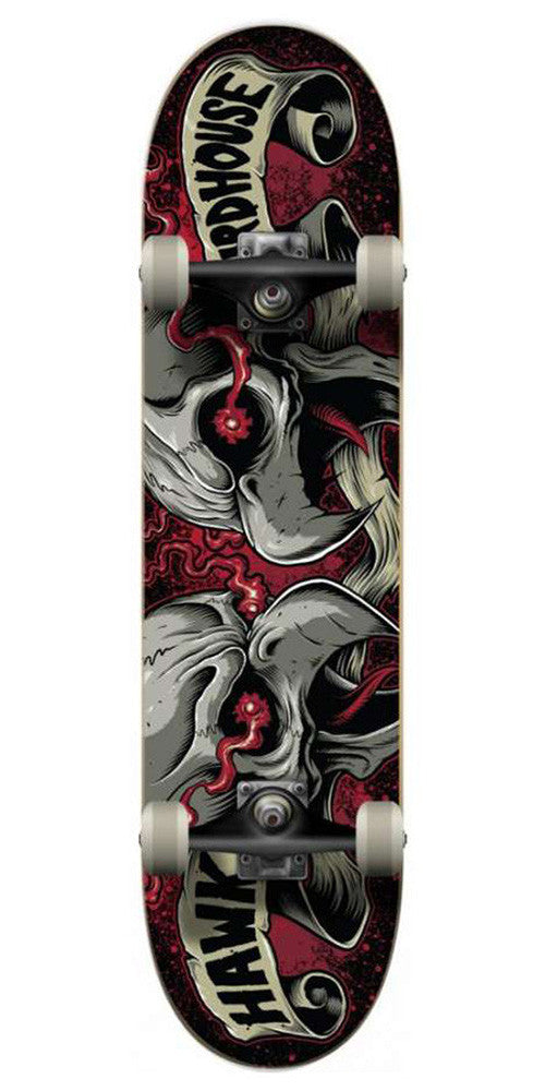 Birdhouse Dueling - Black/Red - 8.0 - Complete Skateboard