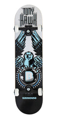 Birdhouse Tony Hawk Blue Complete Skateboard - Black/White - 7.25