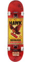 Birdhouse Tony Hawk Firecracker Complete Skateboard - Red - 8.25in