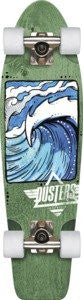 Dusters Nug Swell Cruiser Complete Skateboard - 28 - Green