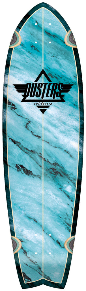 Dusters Kosher Cruiser Complete Skateboard - 9.5 x 33 - Blue