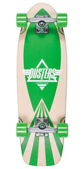 "Dusters Cazh Complete Skateboard - 28.5"" - Kryptonc Green"
