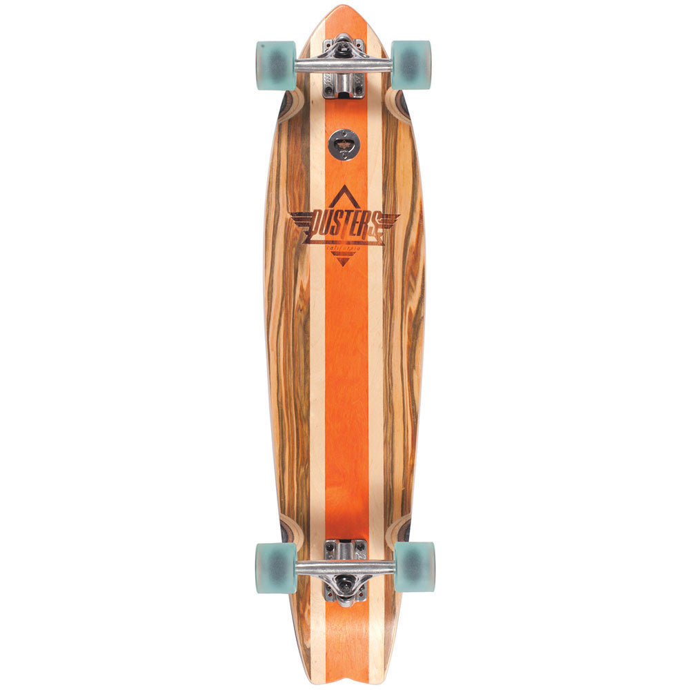 Dusters Coastal Longboard Cruiser Complete Skateboard - Apple Wood - 37in