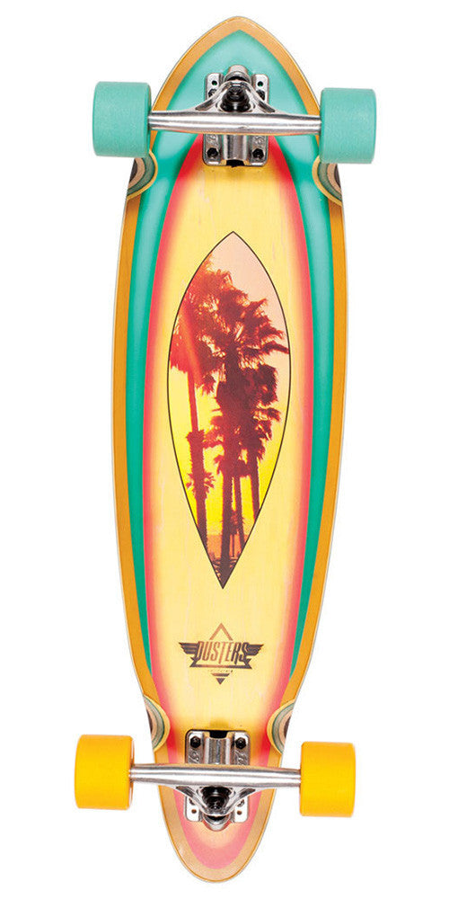 Dusters Mini Fin Cruiser Complete Skateboard - Palms - 31.0in
