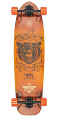 Dusters Kodiak Longboard Complete Skateboard - Sunburst - 36in
