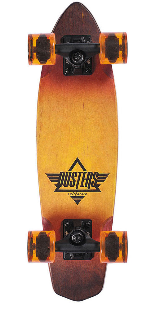 Dusters Ace Cruiser Complete Skateboard - Sunburst - 24in