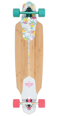 Dusters Channel Longboard Complete Skateboard - Flamingo - 38.0in