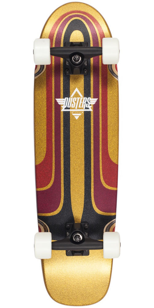 Dusters Grind Cruiser Complete Skateboard - Kryptonic White/Red - 28.25in