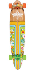 Dusters Primo Longboard Complete Skateboard - Honey Creeper Blue - 40.0in