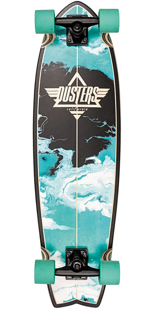 Dusters Kosher Cruiser Complete Skateboard - Turquoise - 33.0in