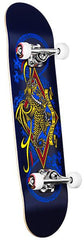Powell Diamond Dragon Complete Skateboard - 7.5 - Black/Blue