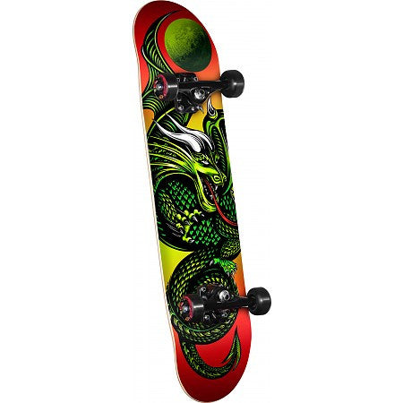 Powell Golden Dragon Complete Skateboard - 7.5 - Knight Dragon