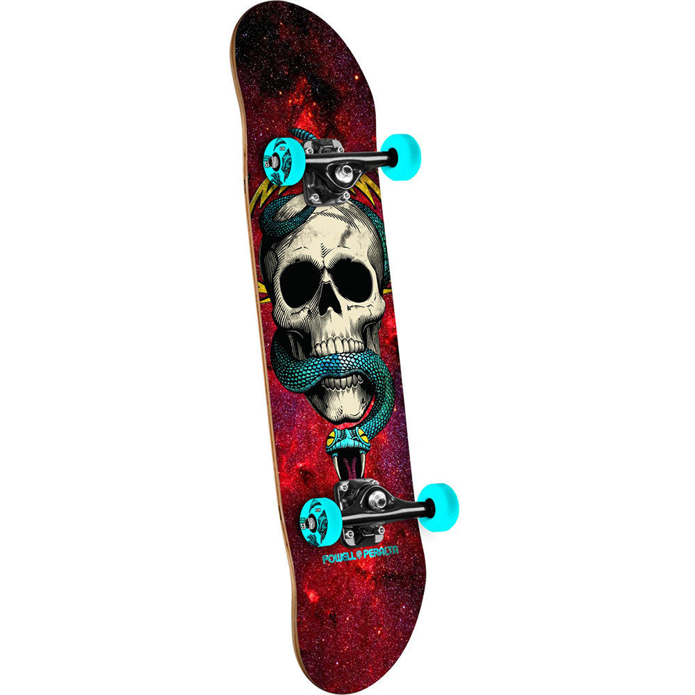 Powell Peralta McGill Complete Skateboard - Cosmic Red - 7.625in x 31.625in