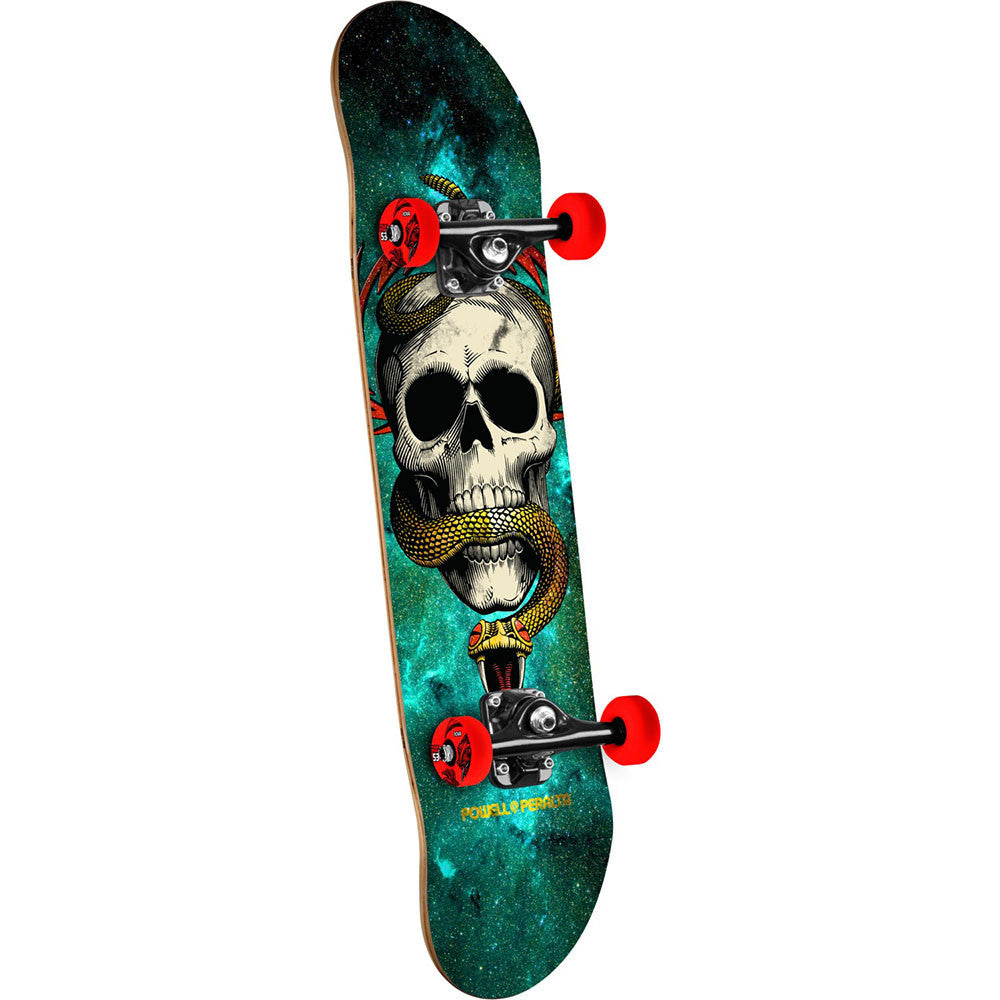 Powell Peralta McGill Complete Skateboard - Cosmic Green - 8.0in x 32.125in