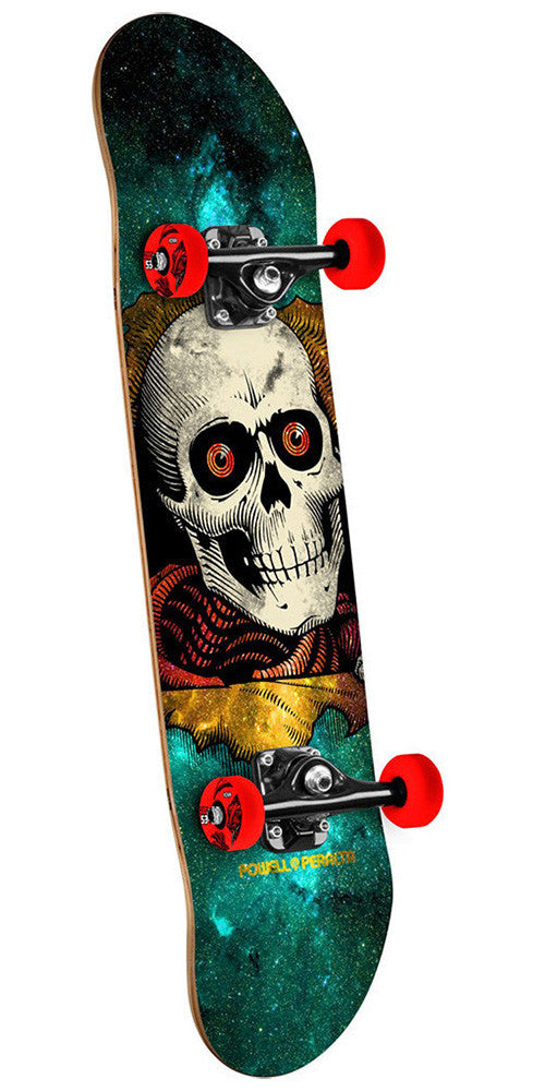 Powell Peralta Ripper Complete Skateboard - Cosmic Green - 7.75in x 31.75in