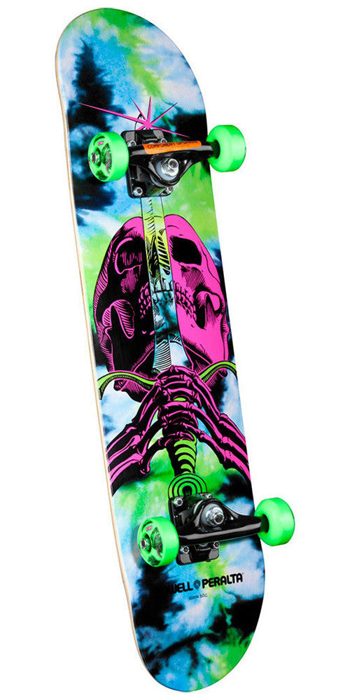 Powell Peralta Skull and Sword Complete Skateboard - Tie Dye - 7.5in x 31.375in