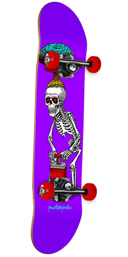 Powell Peralta Explode Complete Skateboard - Purple - 7.88in x 31.67in