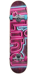 Blind Late Night Youth Complete Skateboard - Pink/Blue - 6.5in