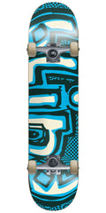 Blind OG Warped Youth Complete Skateboard - Green/Blue - 7.25in