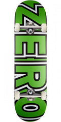 Zero Bold Youth Complete Skateboard - Neon Green - 7.375in
