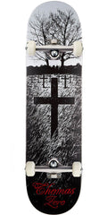 Zero Jamie Thomas Life & Death Complete Skateboard - Black/White - 8.0in