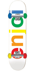 Enjoi Spectrum Complete Skateboard - White - 7.5in