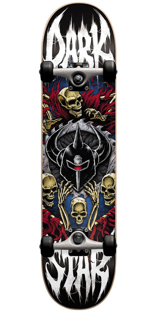 DarkStar Crusade Complete Skateboard - Red - 8.0in