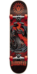 DarkStar Dragon Complete Skateboard - Red - 7.625in