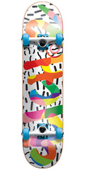 Cliche Curb Youth Complete Skateboard - Multi - 7.0in