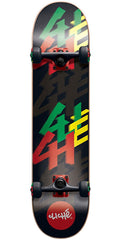 Cliche Ledge Complete Skateboard - Rasta - 7.75in