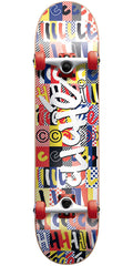 Cliche Feeble Youth Soft Top Complete Skateboard - Multi - 6.75in