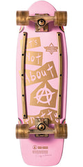 Dusters Cindy INAP Cruiser Complete Skateboard - Pink - 29.0in
