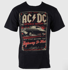 ACDC Speedshop T-Shirt - Black - Medium