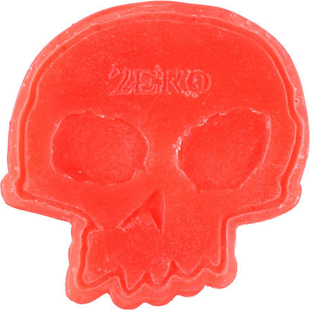 Zero Skull Skateboard Wax - Red